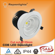 High power 5 inch 35W CITIZEN COB led downlight with 135mm cut out