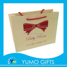 promotional brand new gift paper bag christmas packing, vogue coated paper shopping paper bag