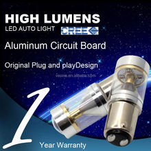 Extreme Bright Samsung auto light 9006 6w car led fog light bulb H1 H3 H4 h5 H6 H7 H8 H9 H10 H11 H16 H15 9-30V IP67 CE R