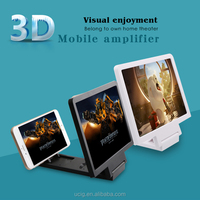 New product mobile phone 3d movie amplifier screen folding enlarged magnifying glass for cell phones