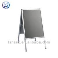 fantastic double sided PVC board aluminum poster stand a1 H47