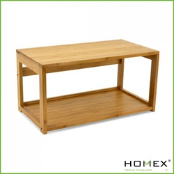 Fancy table bamboo bookcase / HOMEX