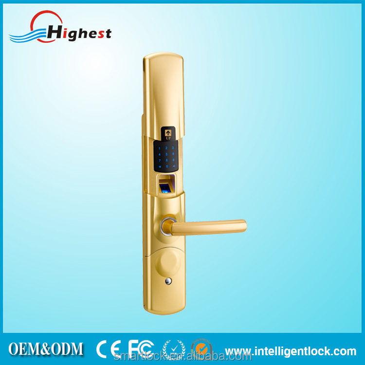 New product biometric fingerprint digital door lock for for 1 touch fingerprint door lock