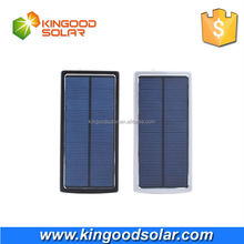 Fast charging monocrystalline silicon panel 20000mah dual USB portable mobile solar chargers for cell phone