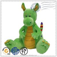 OEM ICTI eco-friendly soft plush baby toy stuffed dinosaur