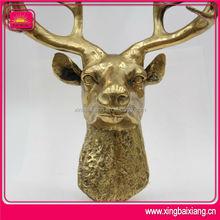 3D Metal Moose Sculpture