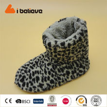 export usa leopard print pv cashmere china wholesale shoes