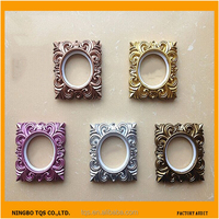 Hot Sale Fashion Square Curtain Eyelets Plastic Ring For Curtain