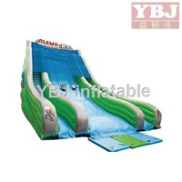 2015 inflatable fun slide for Party inflatable dry children slide