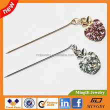 2015 Latest fashion hijab scarf pins,accept paypal wholesalers , muslim crystal scarf brooch hijab scarf pins