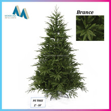 New products 2015 artificial pe christmas tree