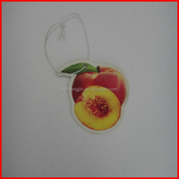 Tomato scent canned paper air freshener