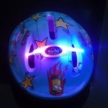 China OEM design mini children bicycle helmet, kids bike helmet with LED light