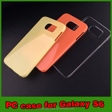 Wholesale Gloss Raw PC Cases For Samsung Galaxy S6