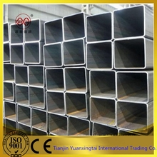 square and rectangular pipe hollow section square galvanized mild steel pipe