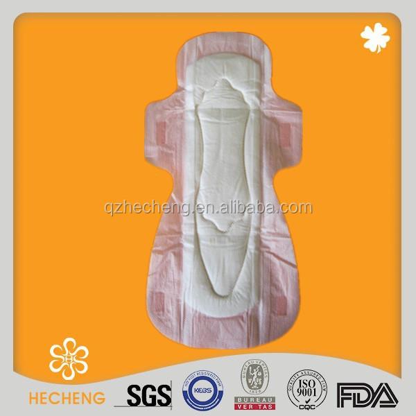Ultra grossa Anion sanitária Pad para as mulheres