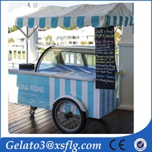 moving outdoor food cart /food tricycle cart for sale