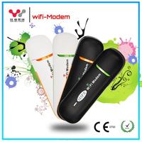 Black and Orange Multi Sim Card Portable 3G Wifi Modem
