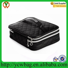 2015 Wholesale Fashion Cheap Polyester Cosmetic Case Make up Case
