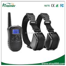For Medium or Large Dogs Safe Electric Trainer Electronic and Vibrating Remote Training Shock Collar 998DR-L