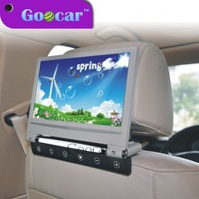 Goocar 998DVD Super Slim and flip down 220 degree 9 inch headrest car dvd player