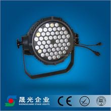 2015 hot sale led 54*3w par light manufacturer price led stage par light