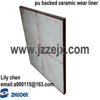 Ceramic Wear Liner for Hopper ,Chute, Bin and Pipe