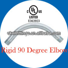 UL6 LISTED Galvanized Rigid Conduit Elbows 90 degree 1/2''-4''