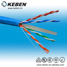 Twisted Pair 0.57mm cat6 cable/copper 23awg D-link lan cable
