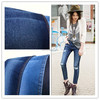 3706 china manufacture roll of 100 cotton denim fabric