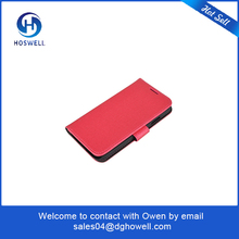 Hot selling red leather mobile phone cases