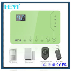 2015 China Cheap alarm !home security systems wireless GSM alarm system