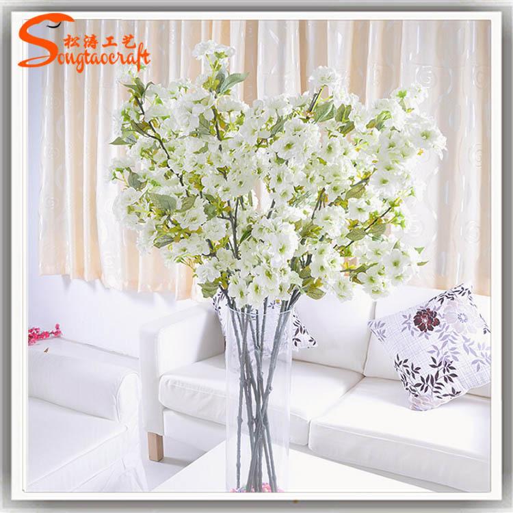 Road decorated artificial flowers cherry blossom silk flower fake 555g mightylinksfo