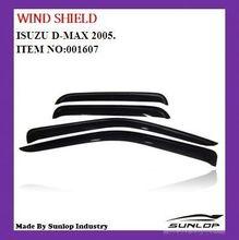 for D- max auto accessories wind shield #0001607 for d-max 2002-2008