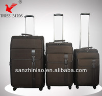 2014 new style 8096 four wheels trolley luggage for20#/24#/28#