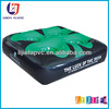 PVC Inflatable 4 Holes Beer Can Holder Cushion