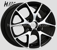 Aluminum Alloy wheel rim Chrome Tuner Mag wheel chrome with black inserts