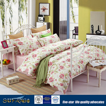 100% Cotton Print Bedsheet Sets Hotel Suppliers