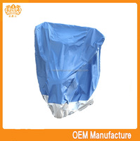 Double colour 190t silver coated rain cover motor tricycle at factory price