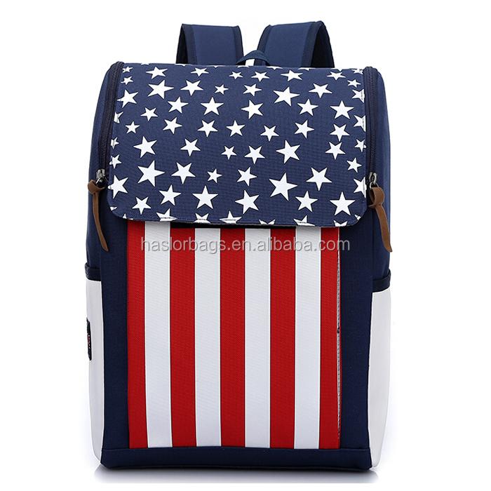 Nouveau design personnalisé gros rectangulaire sacs d'école