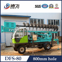 Truck mounted bore pile drilling machine