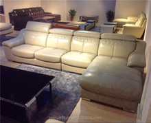 Discount and low price modern sofa,living room furniture leather sofa set