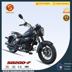 Hot Sell High Quality Fixed Gear Bike Chopper Bike With Double Disc Brakes SD200-F