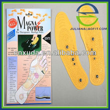 PVC Magnetic Massage Insoles (English color packing)