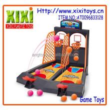 Popular kid sport toys plastic table mini basketball game