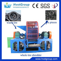 Used tire shredder recycling machine /waste tire shredder for sale