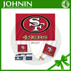 whole sale mail order satin fabric on sale San Francisco 49ers flag