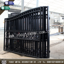2015 years New type main house wrought iron grill gate designs (SGS Product)