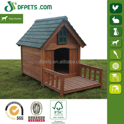 DFPETS DFD3019 Wooden Fence Dog Kennel