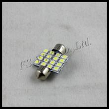 dome light bulb festoon 12v car led light 5050 31mm festoon auto led lamp